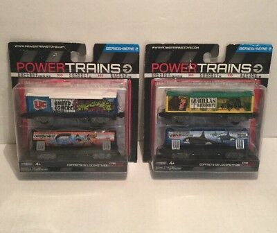Power Trains Series 2 : Graffiti Fright, Animal Freight car lot new