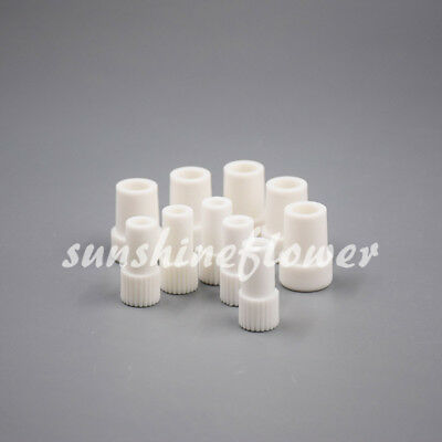 10 Pcs Dental Suction Adaptor 16mm To 11mm Suction Tube Convertor Saliva Ejector