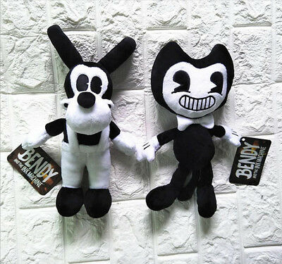 New Bendy and the Ink machine Bendy and Boris Toy Figure Plush Doll gift