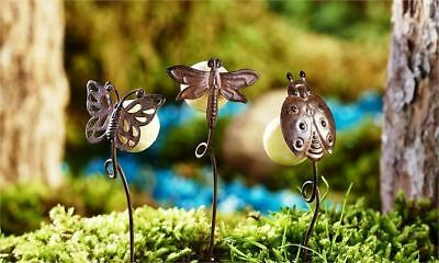 Buy 3 Save $5 Miniature Fairy Garden Mushroom Pick