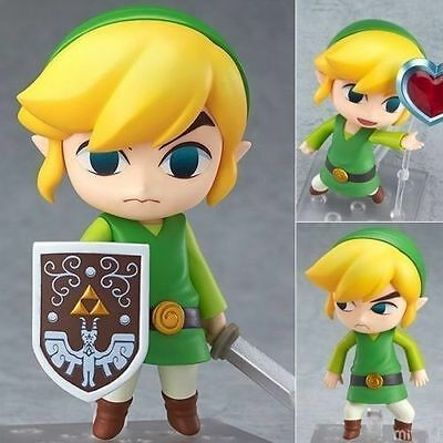 New Nendoroid 413 Link The Legend of Zelda The Wind Action Figure NEW in Box