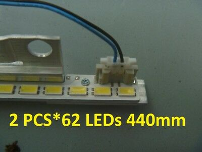 "2 PCS*62 LEDs 2011SVS40-56K LEFT62 RIGHT62 for 40"" BN64-01639A LTJ400HM03-H"