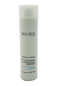 Aroma Cleanse 3 in 1 Hydra-Radiance Smoothing & Cleansing Mousse Decleor 3.3 oz