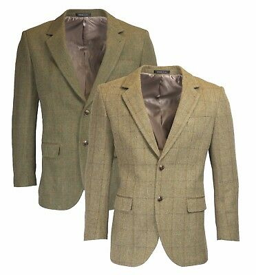 Walker & Hawkes - Mens Classic Windsor Tweed Country Blazer Jacket