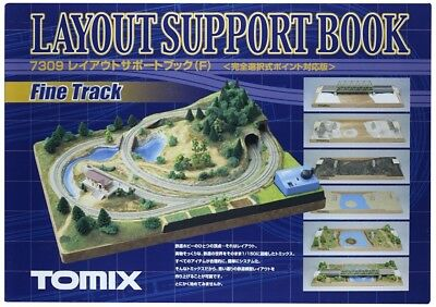 TOMIX N gauge layout support book F revised 7309 model railroad supplies
