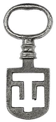 "18th/19th Century ODELL Latch Key 2⅜"" - Edinburgh Tenement - ref.60"