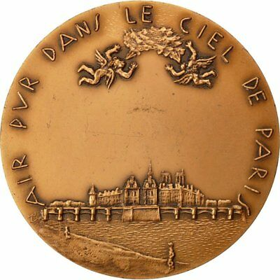 [#64080] FRANCE, Sciences & Technologies, French Fifth Republic, Medal, 1963