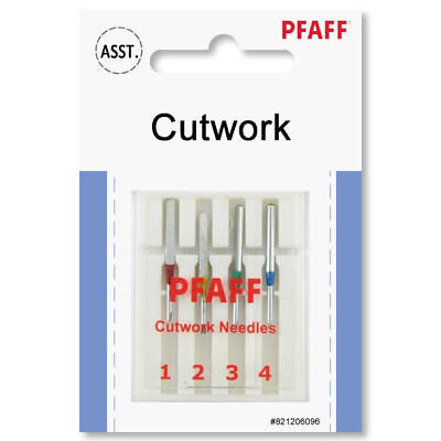 Pfaff Inspira Cutwork Needles 4 Pack