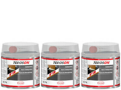 3x TEROSON Chemical Metal - 321g Tin - Loc130
