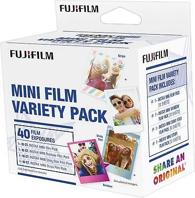 Fujifilm - instax mini Film Value Pack (40 Sheets) - Multi