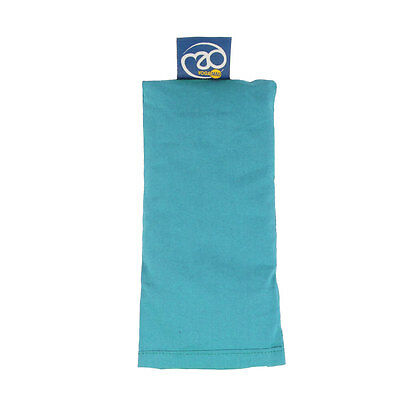 Yoga-Mad Organic Cotton Eye Pillow - Light Blue