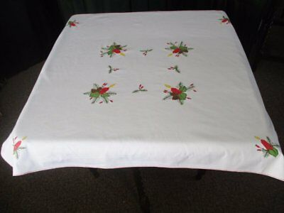 Tablecloth For Christmas - Embroidered Decoration