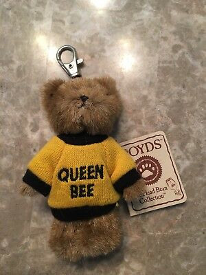 Queen Bee Boyd's Bears Keychain New