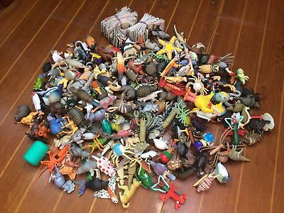 Huge Joblot Of Yowies & Other Plastic Toys - Birds, Bugs, Fish, Animals!