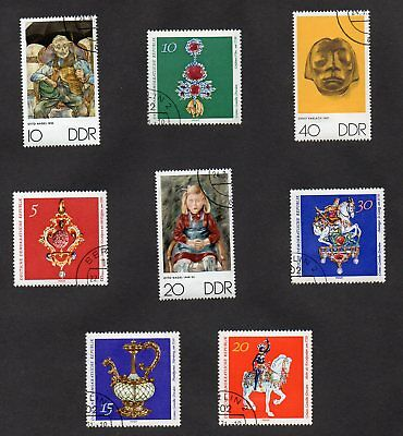 RARE!! Set of (8) GERMANY STAMPS - BEAUTIFUL ART COLLECTION SET