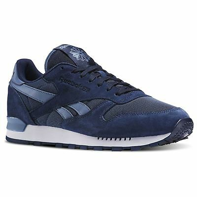 6a605a3f01075 Reebok Classic Leather Clip Elements Trainers Mens Sneakers Shoes Footwear