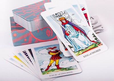White Tarot. A Tarot Cards Deck Based on A. E Waite's The Pictorial Key to Tarot