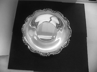 """Vtg Antique Silverplate Serving Plate Tray Alvin Manufacturing Ep Rc1559 10"""""""