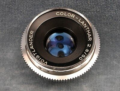 Voigtlander 50Mm F2.8 Color-Lanthar Dkl Mount Lens - Free Usa Shipping
