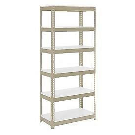 """Extra Heavy Duty Shelving 36""""W x 12""""D x 96""""H With 6 Shelves, 1500 lbs. Capacity"""