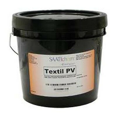 Saati Textil PV Pure Photopolymer Screen Printing Emulsion Quart Free Shipping