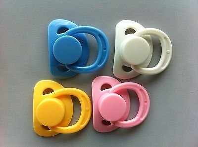 Dummy/pacifier For Reborn With Internal Magnetic Inside (Select Colour)
