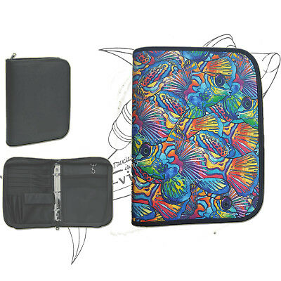 "Logbuch Cordura 3-Ring für PADI - Motiv ""colored Fish"""