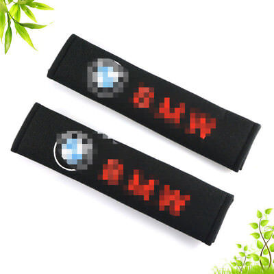 2pc Car Seatbelt Seat Belt Cover Shoulder Cushion Pads for BMW 1 3 4 5 7 Series