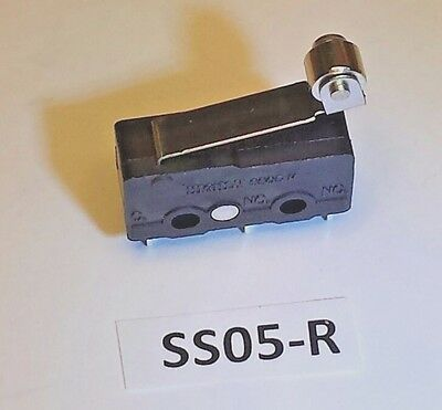 SS-05R Highly roller-lever mini snap-action 5A 125VAC or 3A 250VAC switch