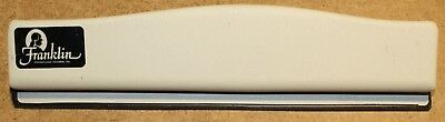 """Franklin Covey """"Classic"""" 8.5"""" x 5.5"""" 7-hole Organizer Planner Paper Punch  CLIX"""