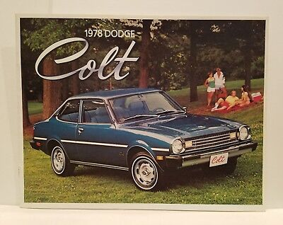 1978 Dodge Colt Dealet Catalog Sales Brochure Excellent Original 78 - NOS