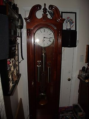 1994 Howard Miller Grandfather Clock Model 610-826
