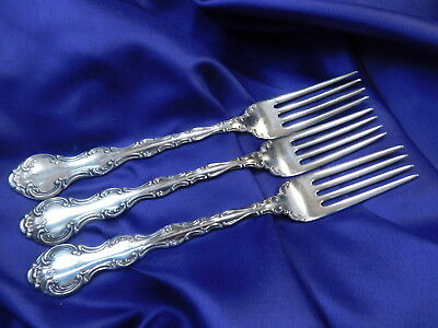 *1* Gorham Strasbourg Sterling Silver Dinner Size Place Fork - Very Good Cond S