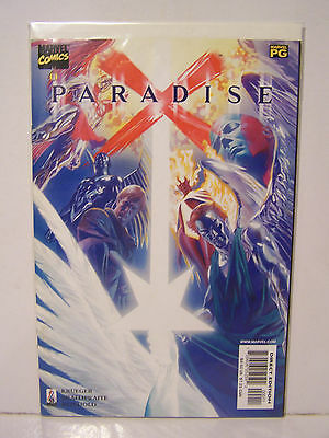 Marvel Paradise X  number 0  Resealable Comic Bag and Board