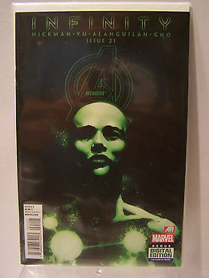 Marvel Comics Now Avengers number 21 Resealable Comic Bag and Board