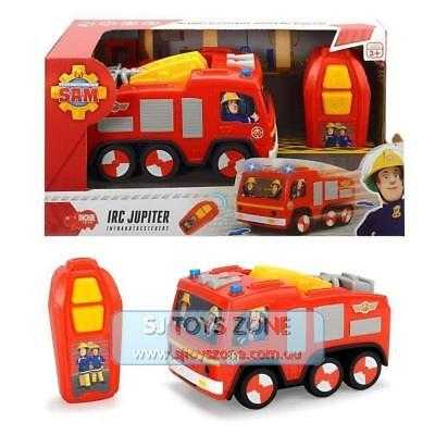 Dickie Toys Fireman Sam Infrared Controlled Jupiter Vehicle Car with Lights