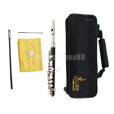 Musical Woodwind Instrument Cupronickel Piccolo C Key for Peformance Silver
