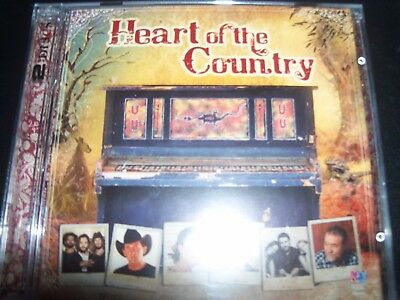 Heart Of The Country Various 2 CD Amber Lawrence Beccy Cole Lee Kernaghan – New