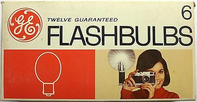 4 New Old Stock box of 12 General Electric 6 Flashbulbs