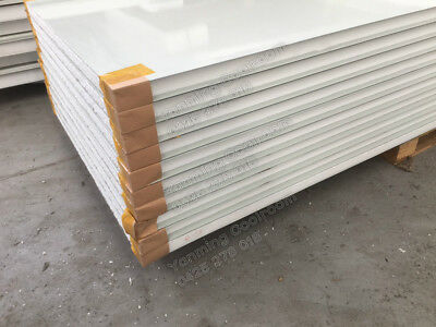 Sandwich Coolroom Panels EPS Panels 950mm 1150mm width 50mm 75mm 100mm Thickness