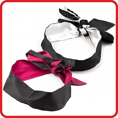 Sexy Fantasy Satin Blindfold Eye Mask Patch -Couples/lovers Game-Costume-Party