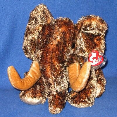 TY GIGANTO THE MAMMOTH BEANIE BUDDY - MINT with MINT TAGS