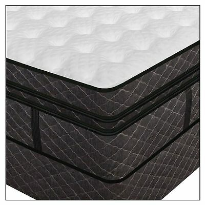 Dual Chamber Select Luxury Medallion Comfort  Air Bed Mattress Eastern King