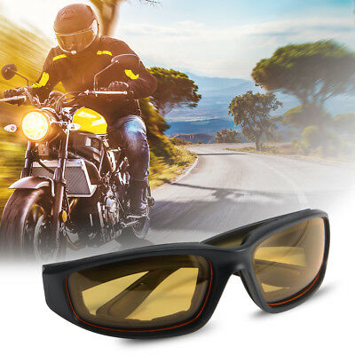 3Pairs Choppers Motorcycle Driving Riding Glasses Padded Foam Sunglasses MA1276