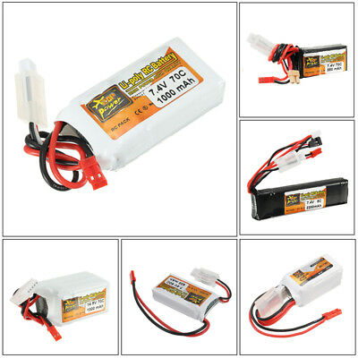 ZOP Power 7.4-14.8V 400-2200mAh 2S-4S Lipo Battery For RC Model/Transmitter AU