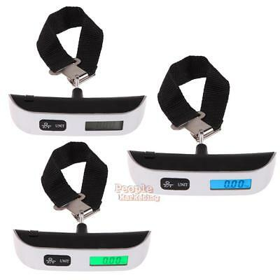 Portable Digital Electronic Travel Luggage Suitcase Hook Hanging Scale Weight
