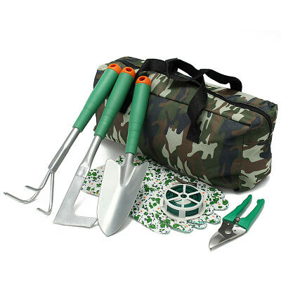 Handheld Gardening Planting Tools Set With Carry Bag For Garden Yard Lawn 7Pcs