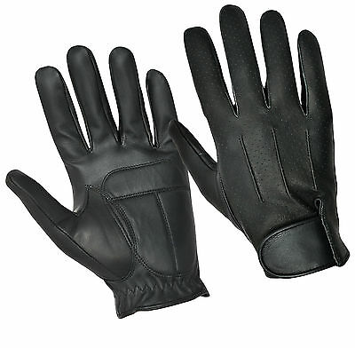 Real Leather Retro Classic Fashion Dressing Driving Gloves Soft Top Quality