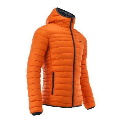 2018 Acerbis Peak 73 Reversible Jacket Orange Casual Padded Quilted New Mx Cheap
