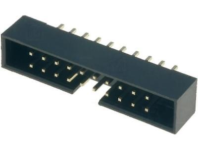 T823-120A1S100HEU Socket IDC male PIN20 straight THT gold plated 2mm